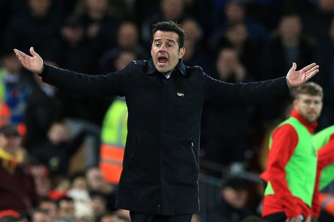 Everton manager Marco Silva has been fined £12,000 for improper conduct