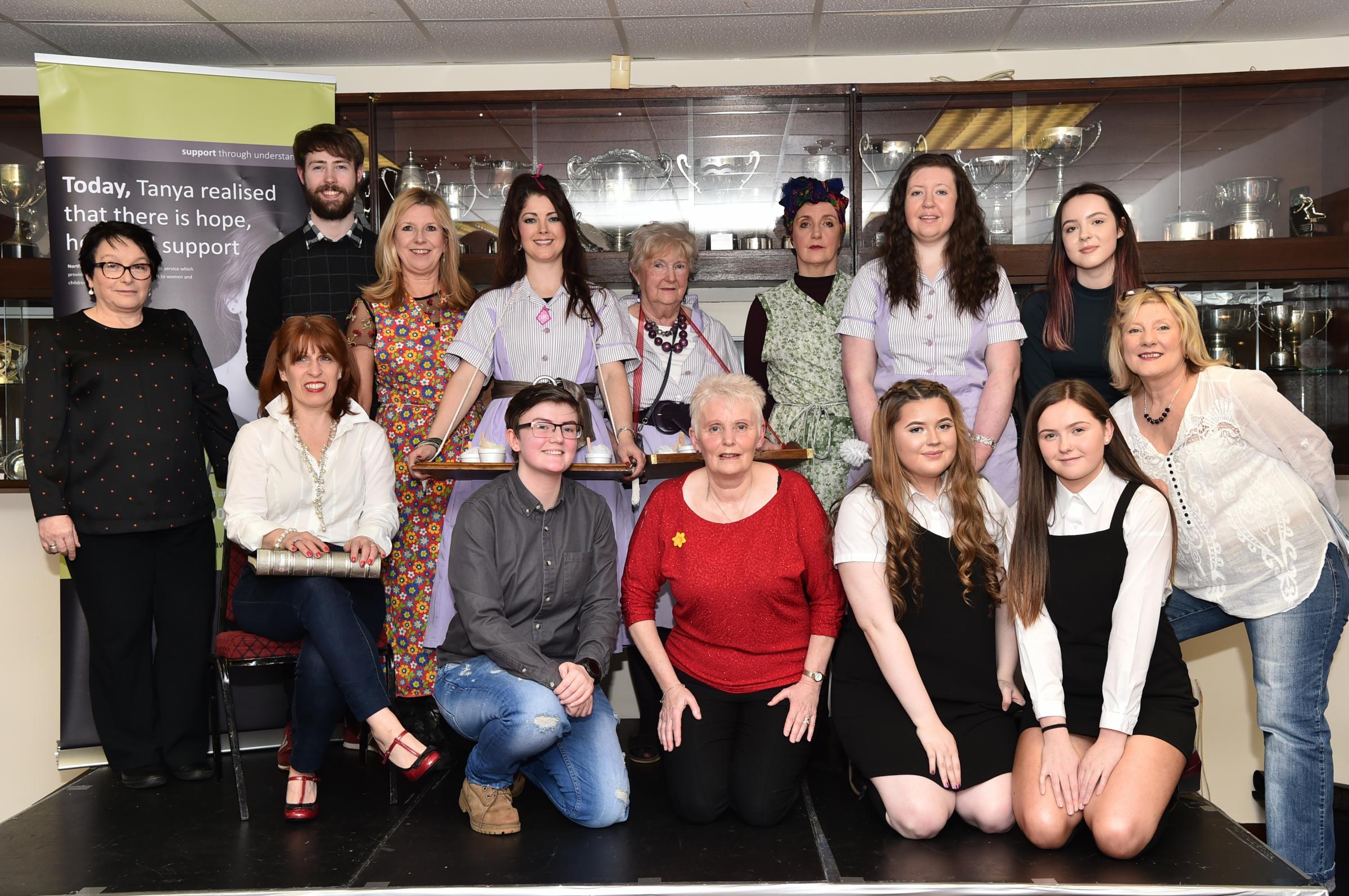 Ardrossan's 'Lassies Giein it Laldy' raises £535 for Women's Aid