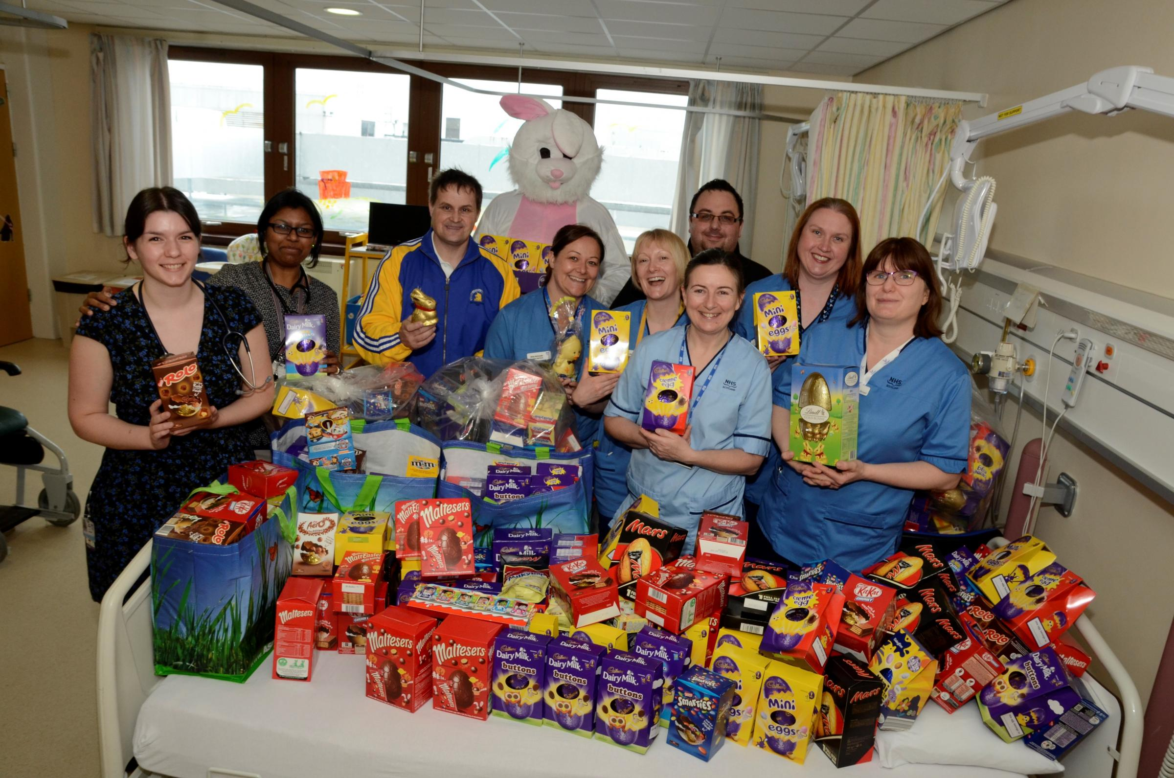 Kilwinning charity campaigner launches annual Easter egg appeal