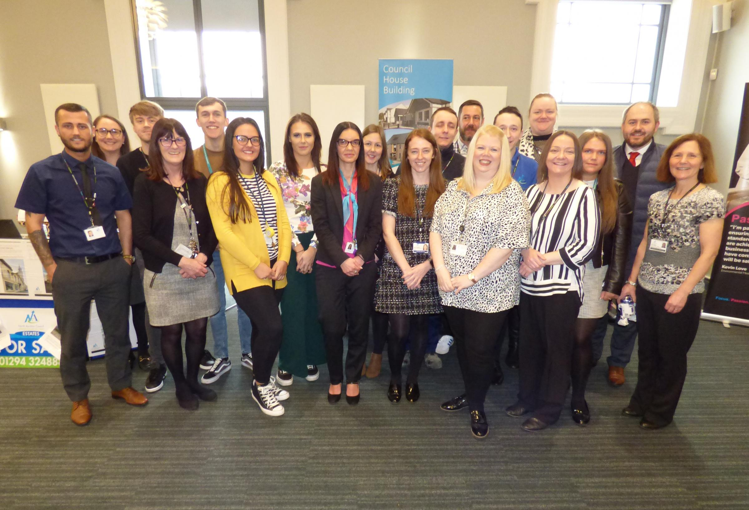 Success of Modern Apprentice event at Saltcoats Town Hall