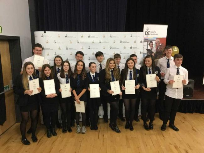 Young people from all over North Ayrshire attend Duke of Edinburgh Award presentation