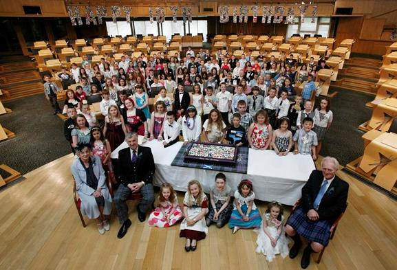 'Holyrood babies' invited to Scottish Parliament's 20th anniversary