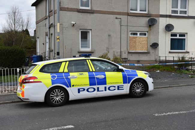 Teenager appears in court charged with murder in Dalry