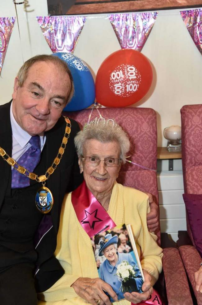 Dalry's Mary marks her 100th birthday with a big party