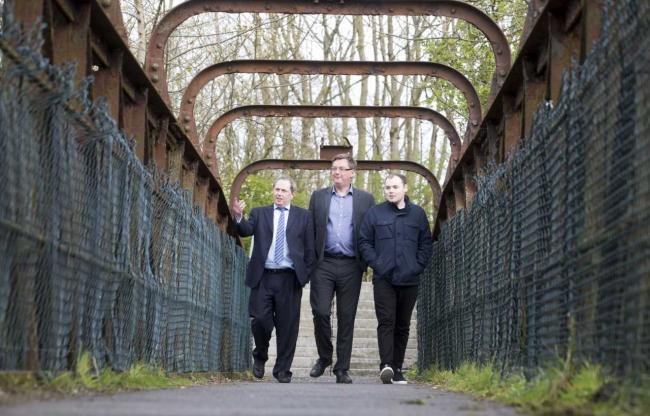 Steel group funds new series of walking routes around Kilbirnie