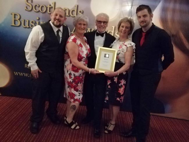MRC Fitness Studio in Dalry are voted the best in Scotland at Business Awards