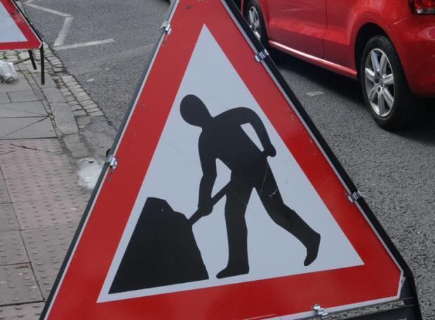 Road closures between Ardrossan and West Kilbride for carriage resurfacing works.