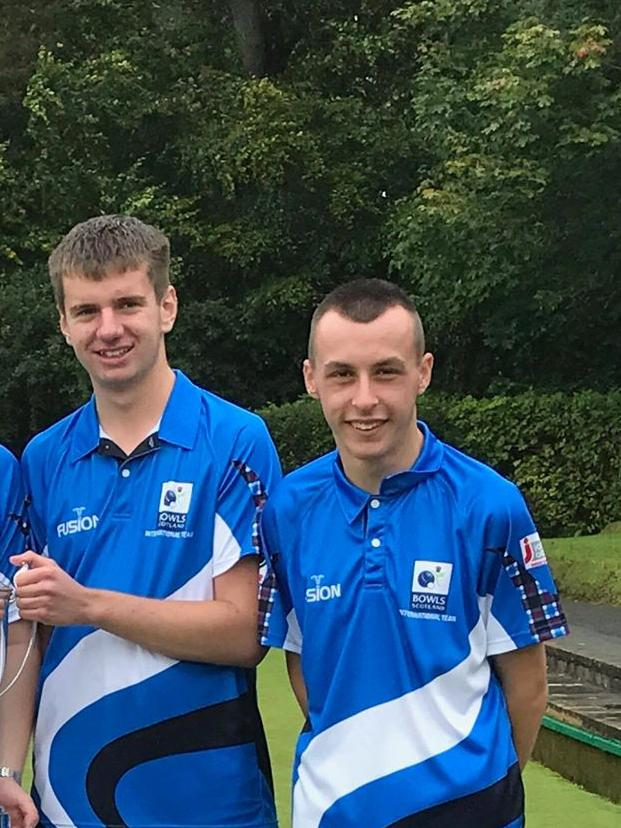 Ayrshire bowlers make the Scottish squad in the International Series